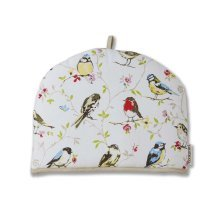 Cooksmart Tea Cosy Teapot Cover Warmer Cotton Insulated, DAWN CHORUS