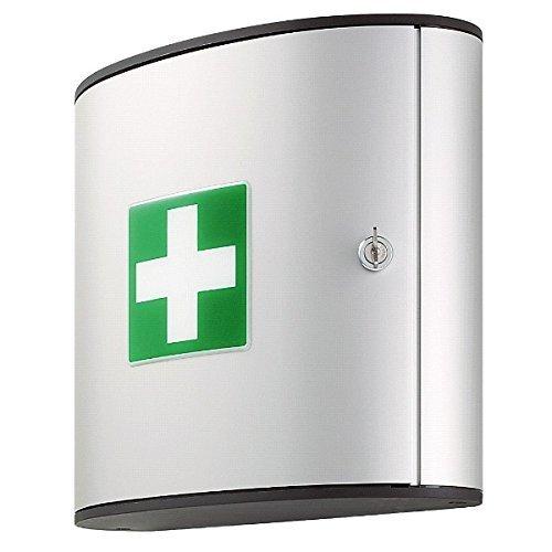 Durable First Aid Box Medium (Empty) - Silver