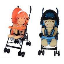 Summer Carts Mats Reusable Stroller Bamboo Mats Liner for Stroller(Lovely Bear)