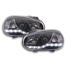 DRL Daylight Headlight VW Golf 4 Year 97-03 black RHD