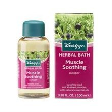 Kneipp Muscle Soother Herbal Bath Oil 100ml (juniper)