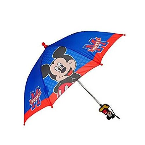 Umbrella - Disney - Mickey Mouse Blue/Red M Logo New 389427