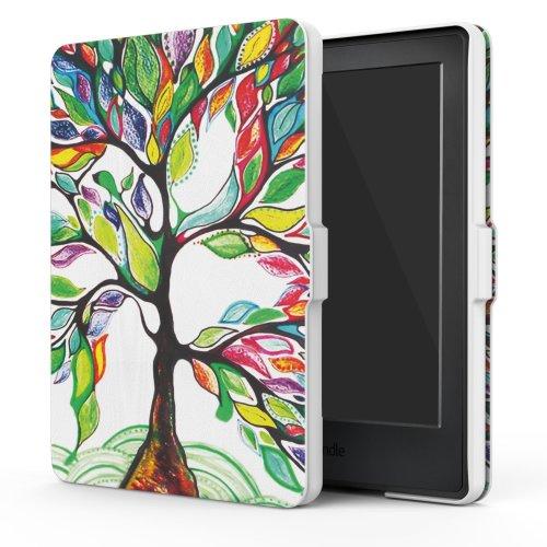 """MoKo Case  Kindle E-reader 6""""  (8th Gen 2016) -  Lucky TREE"""
