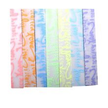 Lucky Star Origami Folding Papers - 7 Colors - 420 Sheets