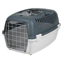 Trixie Capri Iii Open Top Transport Box, 40 × 38 × 61 Cm, 2.5 Kg, Light Grey/ - -  top trixie capri open box iii light new dog 3 transport 40 38 61