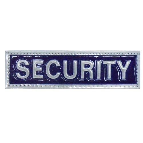 Reflective SECURITY Patch -Blue-14 x 4cm