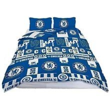 CHELSEA FC DOUBLE TAG DUVET COVER SET