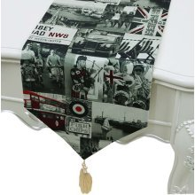Tablecloths Coffee Table Cloth Table Flag Table Runner, 33*150 CM