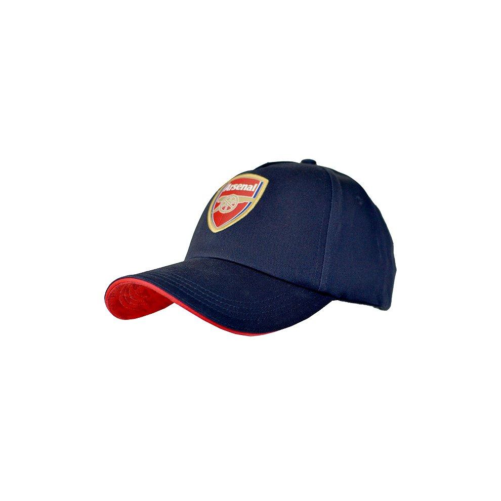 b3a20e5e371 Arsenal Baseball Cap - Navy - Club Football Hat Features Crest Red Colour - club  arsenal.