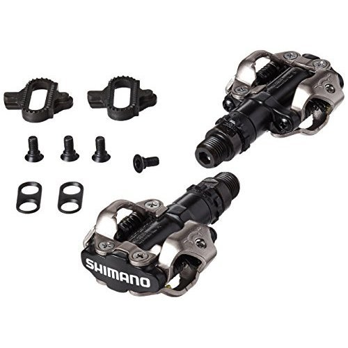 Shimano PD M520L MTB Sport Pedals with Cleats