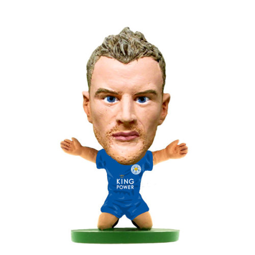 Soccerstarz Soc1071 Classic Leicester Jamie Vardy Home Kit - New Toys -  leicester jamie vardy home kit classic soccerstarz new toys soc1071