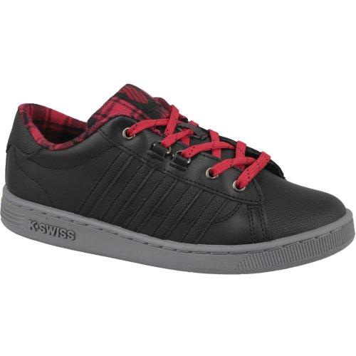 K-Swiss Hoke Plaid 85111-050 Kids Black sneakers