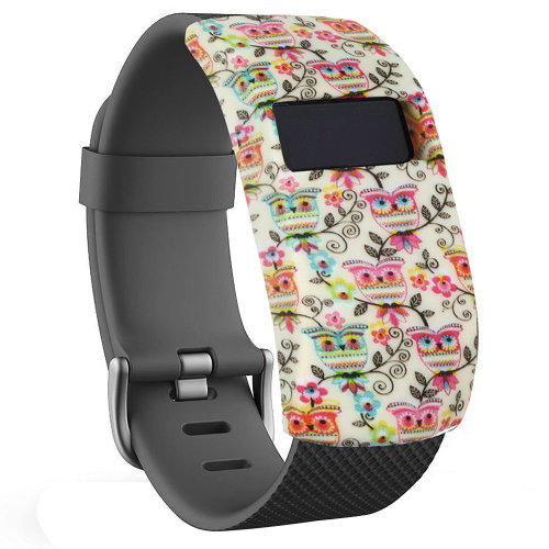 TRIXES FITBIT BAND COVER OWLS