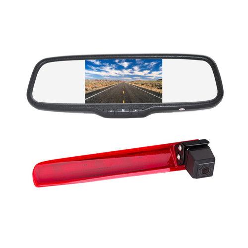 Vardsafe Brake Light Parking Rear View Reverse Camera Kit for Volkswagen Transporter T5 / T6 (with Twin Rear Doors)