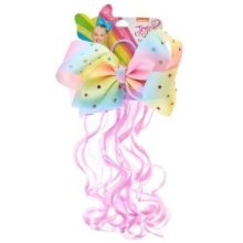 Jojo Siwa Pastel Rainbow Hairband with Faux Hair