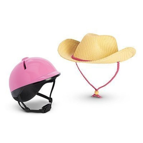 American Girl - Riding Hat and Helmet for Dolls - MY AG 2014