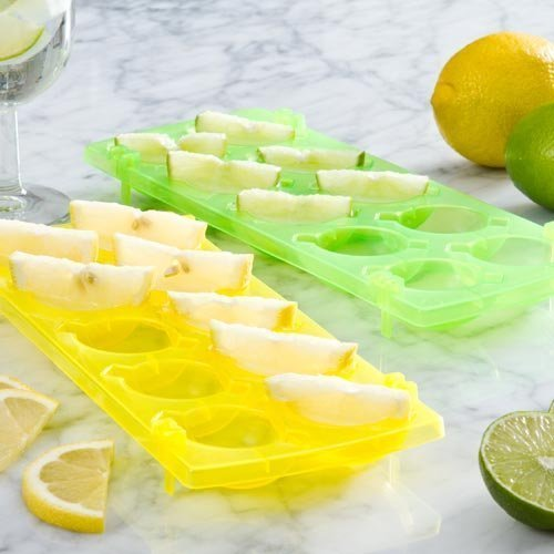 Ice 'n Slice Trays Yellow And Green - N Eddingtons Cube Lime Set 2 -  ice slice trays n yellow green eddingtons cube lime set 2