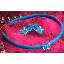 Plastic Elephant Hairband & Clip - Wild Republic Elephant Hairband & 2 Clips Childrens Animal Hair Accessory