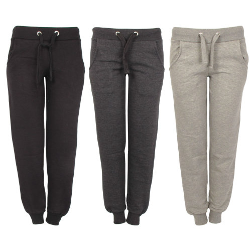 Ladies Joggers Tracksuit Sports Bottoms Pants