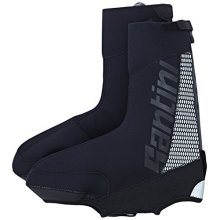 Santini 365 Neo Optic Waterproof Overshoe - Black, Medium - Sp577neo Black -  santini 365 sp577neooptic waterproof overshoe black medium blacks