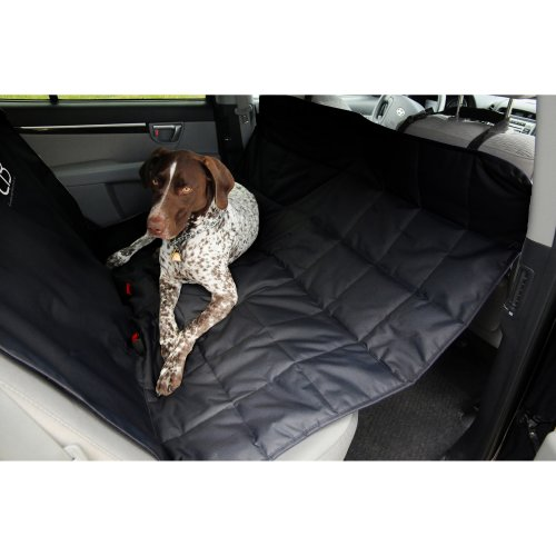 "Petego Xl Rear Car Seat Protector Hammock 59.5""X64.5""-Black"