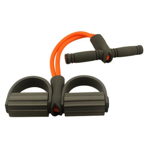 Resistance Band Exercise Straps/Pedal Tubing, Orange