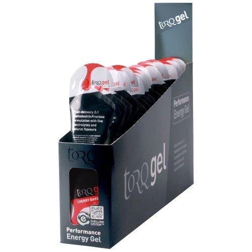 Torq Energy Gel Box of 15 Gels - Cherry Bakewell