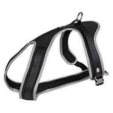 Trixie Dog Harness Black Experience 65 – 90 cm/20 mm, Size: L - Tours Tableware -  trixie experience dog tours tableware black various sizes new