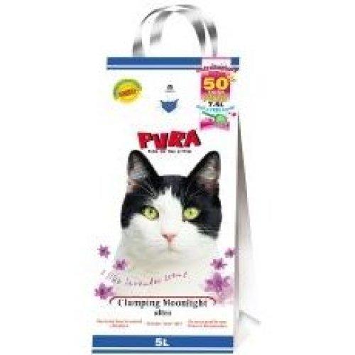 Pura Moonlight Ultra Clumping Cat Litter Lavender 5ltr