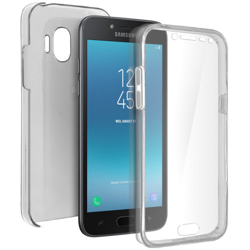 separation shoes ffd60 1b6db Silicone case + back cover in polycarbonate Galaxy Grand Prime Pro - Ultra  clear