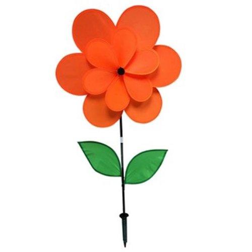 Gardener Select GSA024A 18 X 28 in. Double Petal Pinwheel, Orange