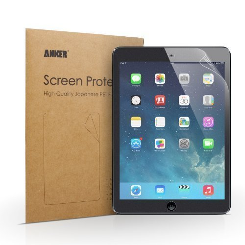 Anker Screen Protector for Apple iPad Air / iPad Air 2 [2-Pack]