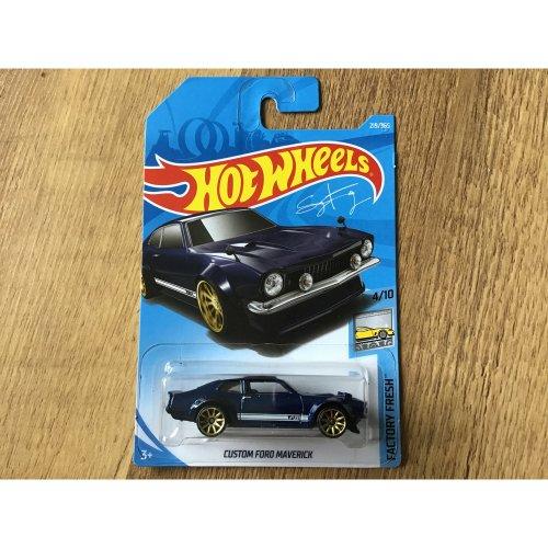 Hot Wheels 2018 Factory Fresh Custom Ford Maverick #219