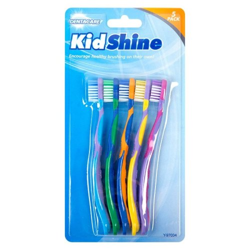 5 x Kids Childrens Pack of 5 Toothbrush Tooth Brush Oral Dental Care