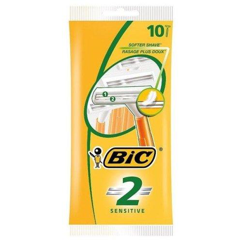 Bic 2 Sensitive Twin Blade Shaver for Sensitive Skin - 10 Pack