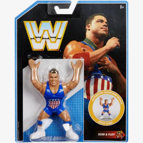 WWE Retro - Series 7 - Kurt Angle Figure