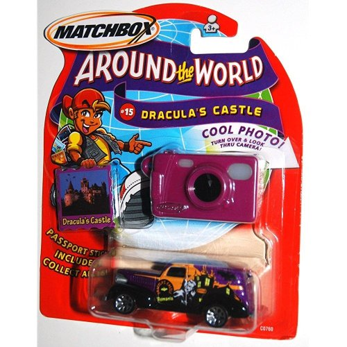 2003 Matchbox Around The World Collection # 15 DraculaS Castle, 1939 Chevy Van (1 Each)