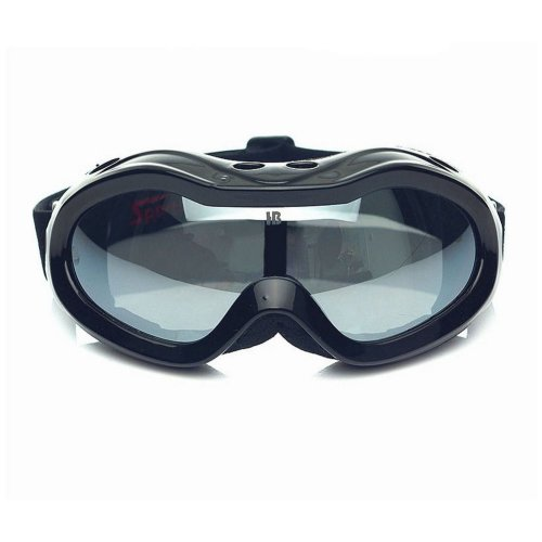 Black Goggles Ski/Skating/Snowboard Goggles for Kids Smoke Lens