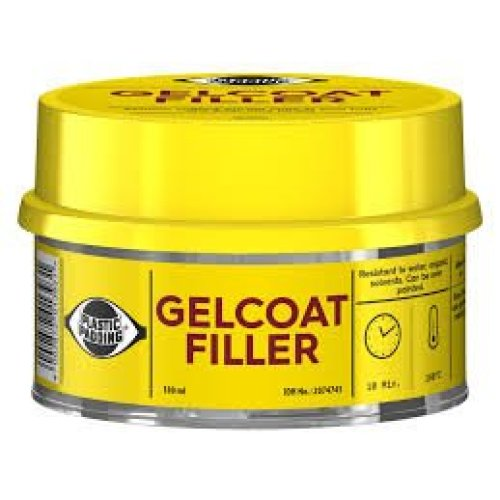 Gelcoat Filler with Hardner - 180ml tin