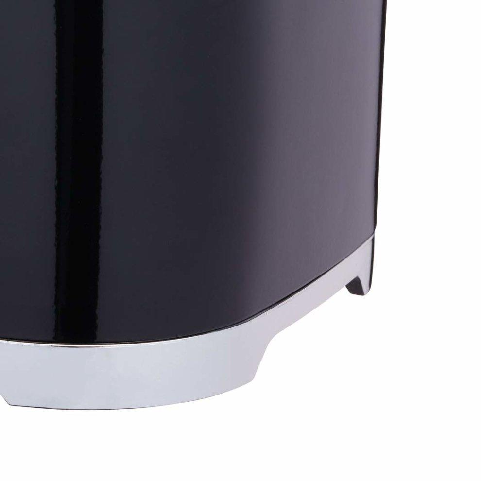 "KitchenCraft Lovello Cake Storage Tin 26 x 20 cm 10/"" x 8/"" - Midnight Black"