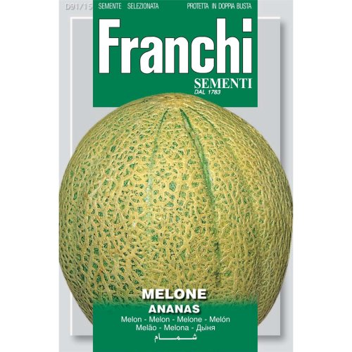Franchi Seeds of Italy - DBO 91/15 - Melon - Ananas - Seeds