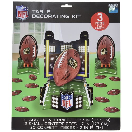 Amscan International 281214 NFL Table Decoration Kit