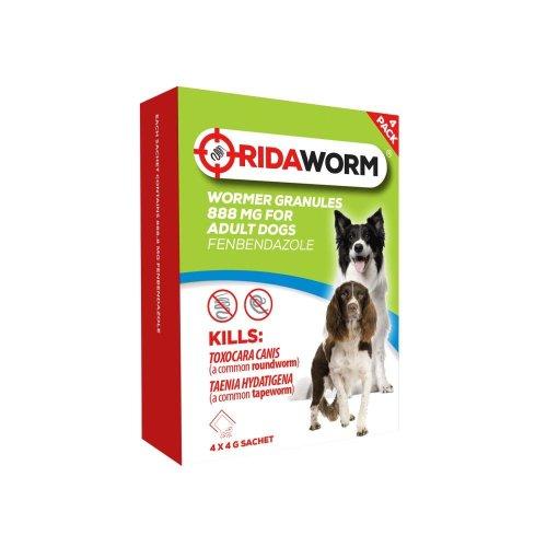 Ridaworm Dog Granules 4x4g