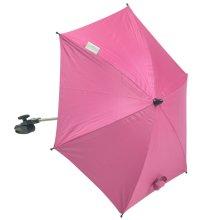 Baby Parasol compatible with Obaby Zezu Pramette Travel System Hot Pink