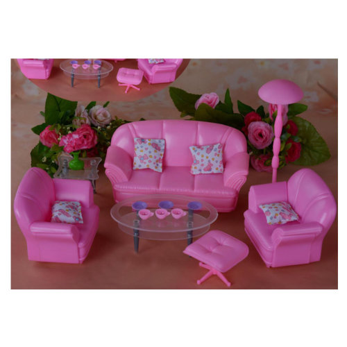 Luxurious 11.5'' Doll Living Room Furniture Set-Living Room 02