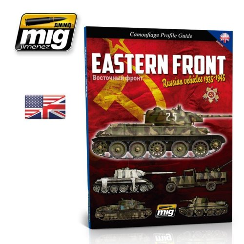 Mig Ammo Books - Eastern Front Russian Vehicles 1935-1945 Camouflage Guide