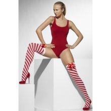 Red & White Striped Hold Ups
