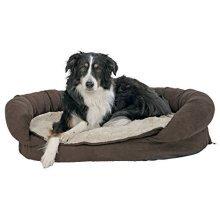 Trixie Fabiano Vital Bed, 120 x 75 Cm, Brown/beige - Dog Bed Brownbeige Various -  trixie dog vital bed fabiano brownbeige various sizes new