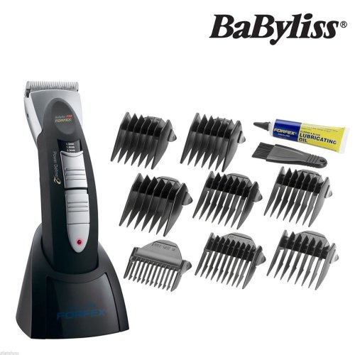 BaByliss Pro Forfex Professional Cordless Corded Clipper Stainless Steel Blade