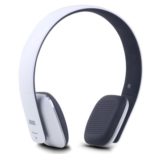 25a9225f3b0 August EP636 Bluetooth Headphones - White - On Ear Wireless Headset with  Mic & Bluetooth V4.1 on OnBuy